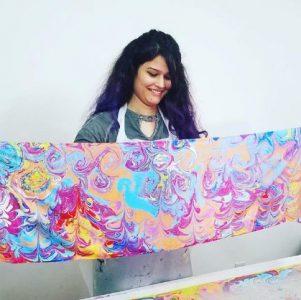 TA - Silk art